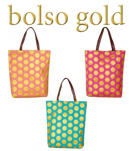 Bolso Gold Bordado