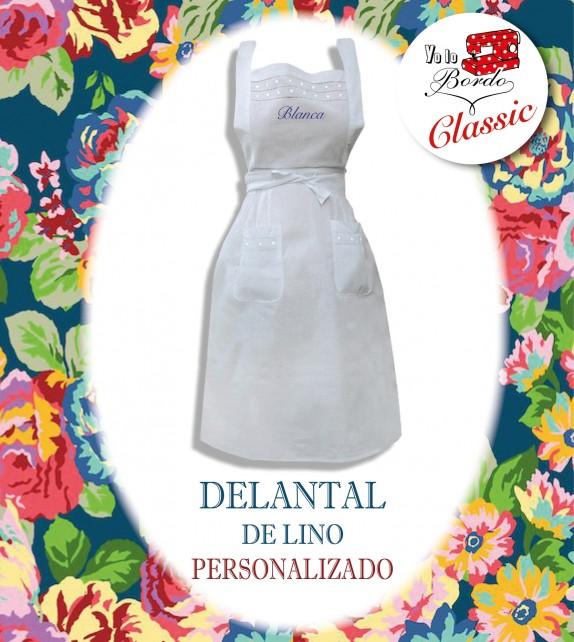 Delantal Lino Esence