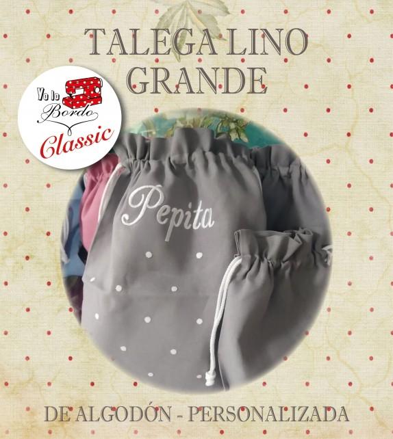 TALEGA LINO GR. PERSONALIZADA
