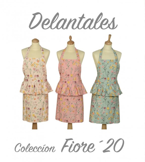 Delantal Fiore20 Bordado