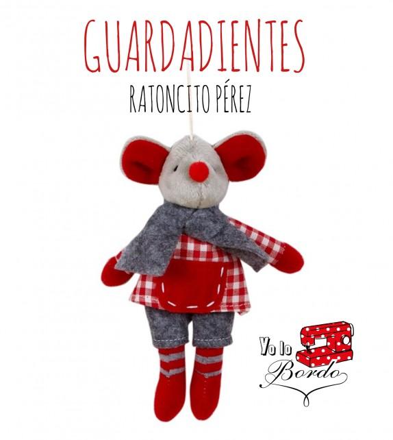 MUÑECO GUARDADIENTES RATON PÉREZ