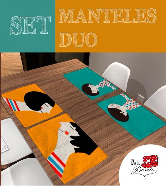 Mantel set duo