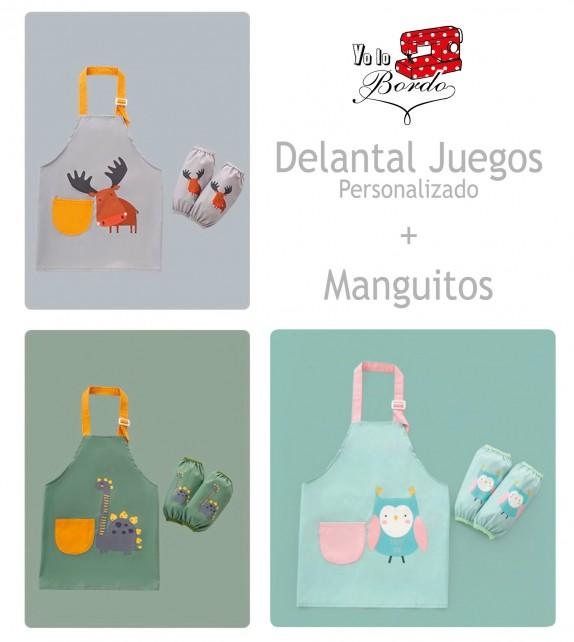 Delantal Juego Manguitos