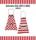 Delantal Infantil Kids Love Bordado