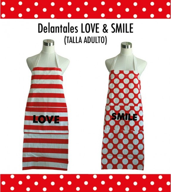 Delantal Adulto Love-Smile Personalizado