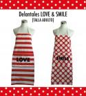 Delantal Adulto Love-Smile Personalizado