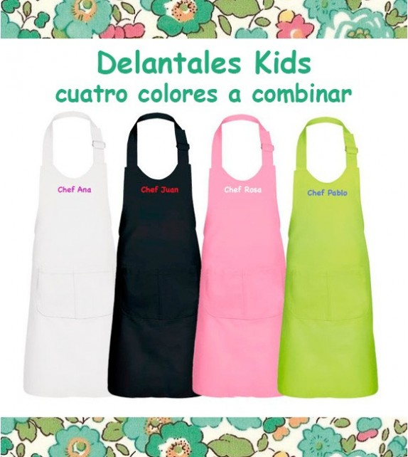 Delantal Infantil Bordado