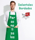 Delantal Basic Bordado