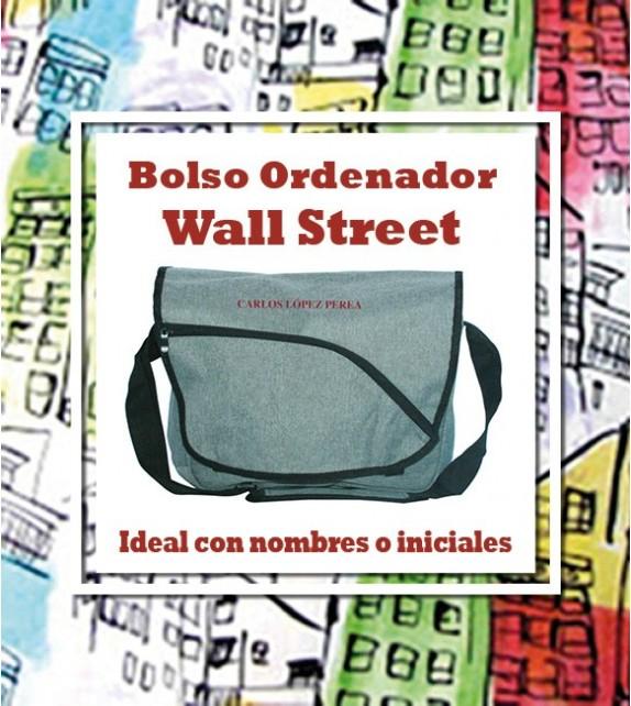 Bolso Ordenador Wall Street Bordado