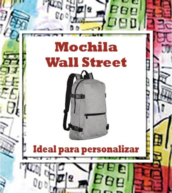 Mochila Wall Street