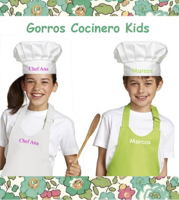 Gorro cocinero infantil