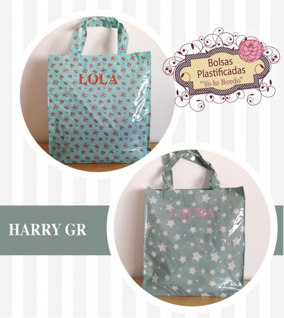 Bolsa Harry plastificada S personalizada